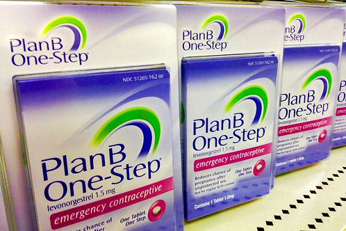 Plan B One-Step (Levonorgestrel) 1.5mg