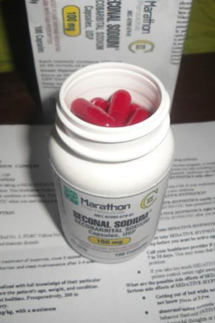 Seconal (Secobarbital) 100mg