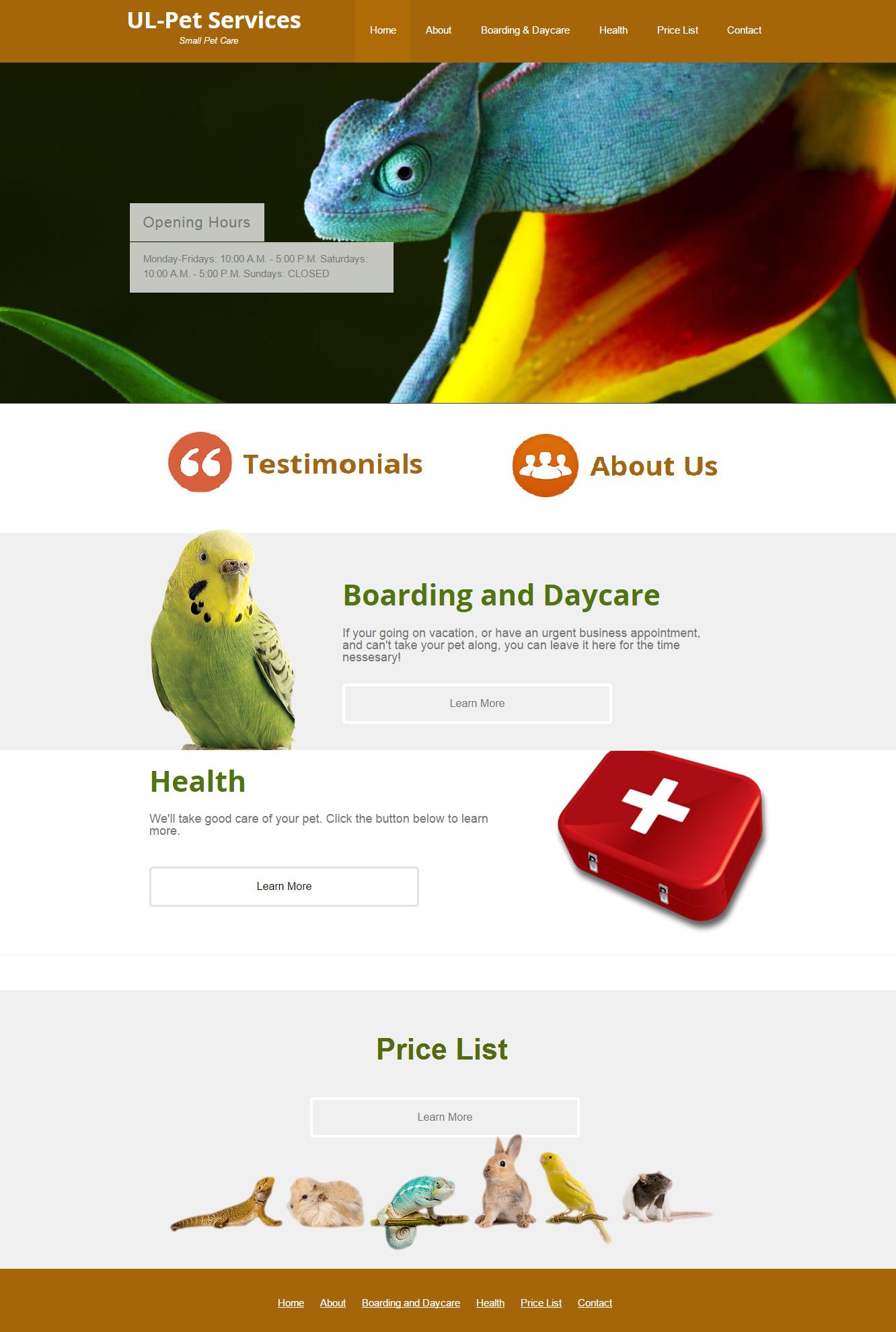 UL-Pet Services