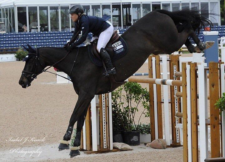 Jess Show Jumping logansbrook