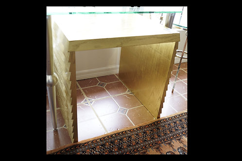 Gold Side Table $120.00