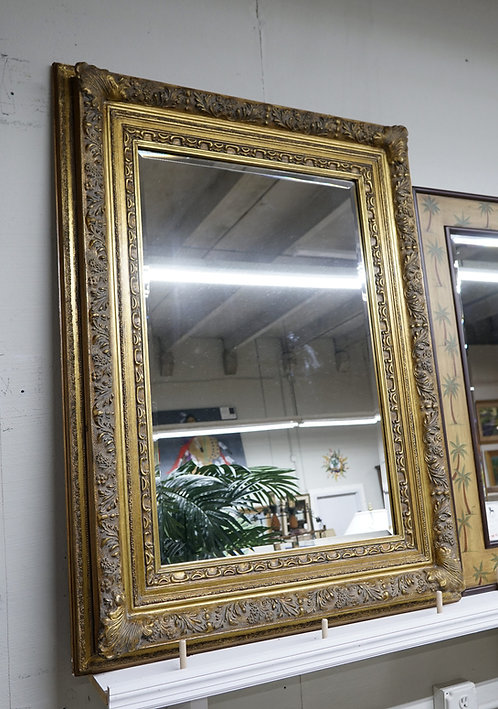 "Ornate Gold Mirror 37"" x 49"" $299.00"