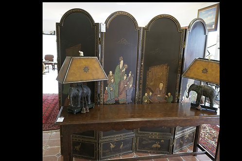 Vintage 4 Panel Room Divider $399.00