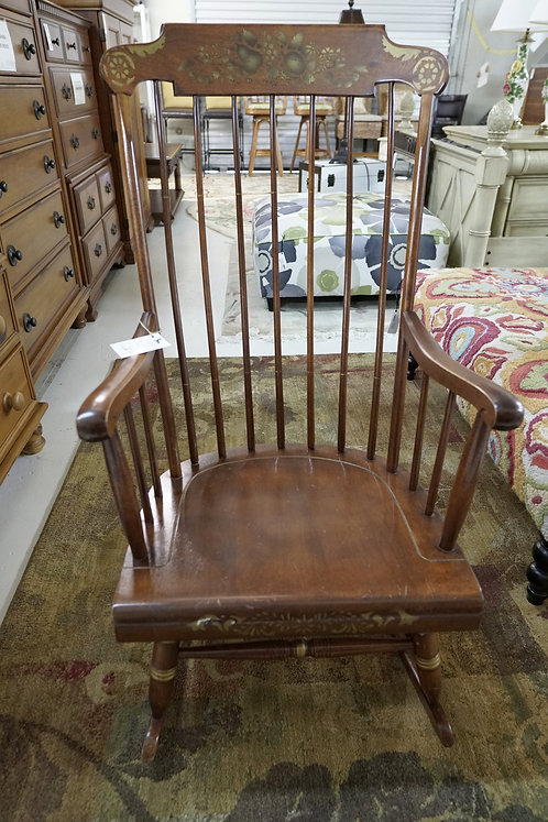 Colonial Windsor Style Rocking Chair $99.00
