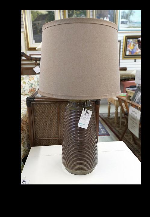 Ceramic Bronze Look Table Lamp $59.00