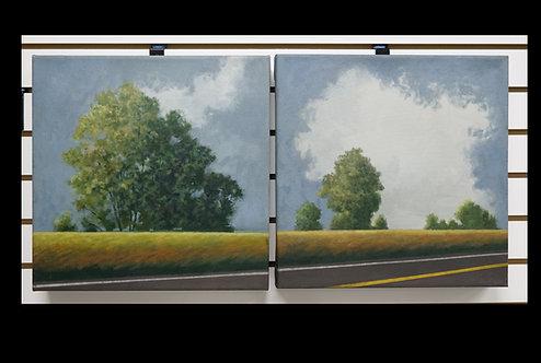 Pair Scenic Landscapes by Davoli $499.00