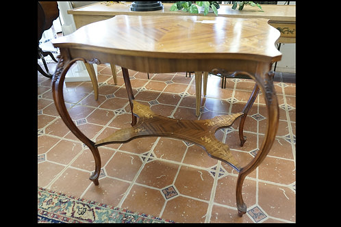 Inlay Wood Side Table $299.00