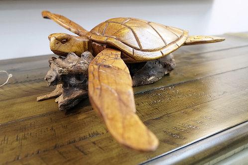 Turtle on Driftwood $65.00
