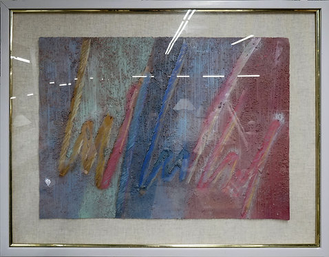 Abstract Framed Art by Isaacs $199.00