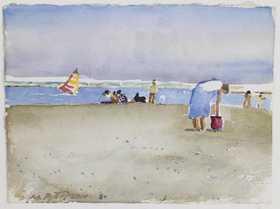 Michael Patterson, Original Watercolor - Signed $125.00