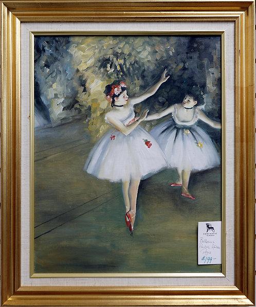 Ballerina Painting After Degas $199.00