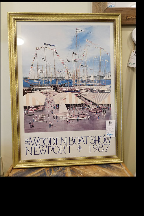 The Wooden Boat Show- Newport 1987 $99.00