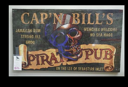 Cap'n Bill's Pirate Pub Sign $77.00