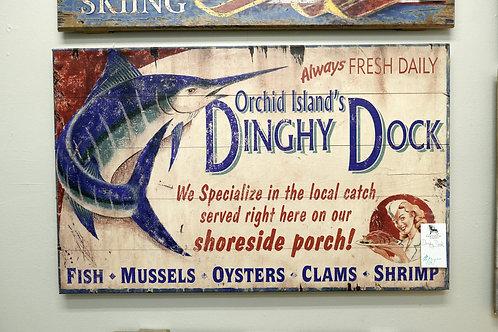 Dinghy Dock Sign $121.00