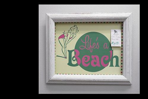 """""""Life's a Beach"""" Framed Art $14.99"""