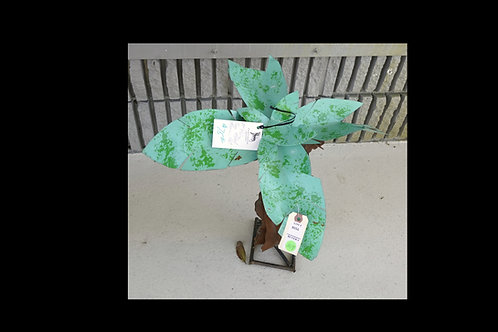 "19"" Palm Tree Metal Mexican Art $75.00"