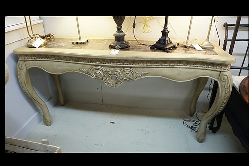 Entry Table w/ Marble Top $350.00
