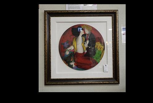 Linda Le Kinff Folie Serigraph on Wood $799.00