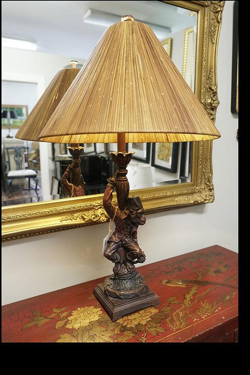 Tall Vintage Monkey Lamp $299.00