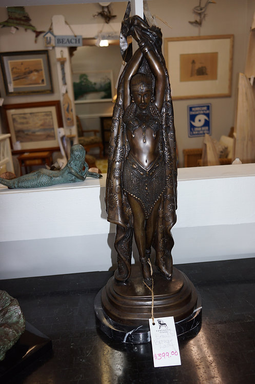Bronze Lady w/ 2 Arms Up $399.00