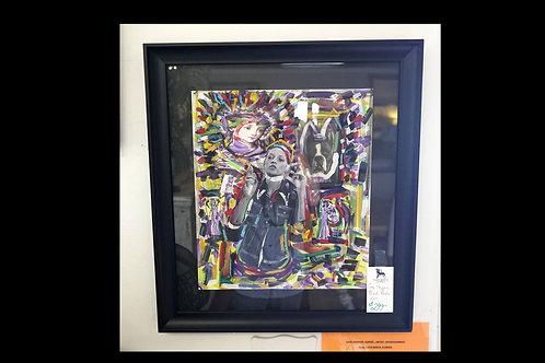 Gary Propper Mixed Media Art $299.00