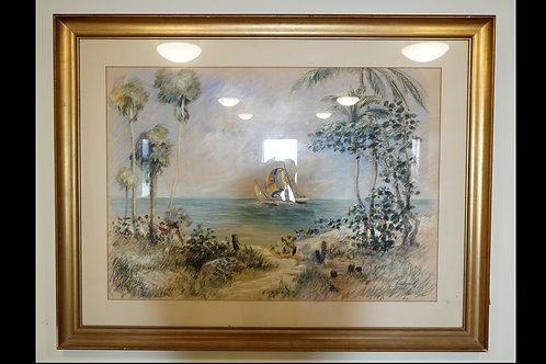 Florida Sailboat Painting $299.00