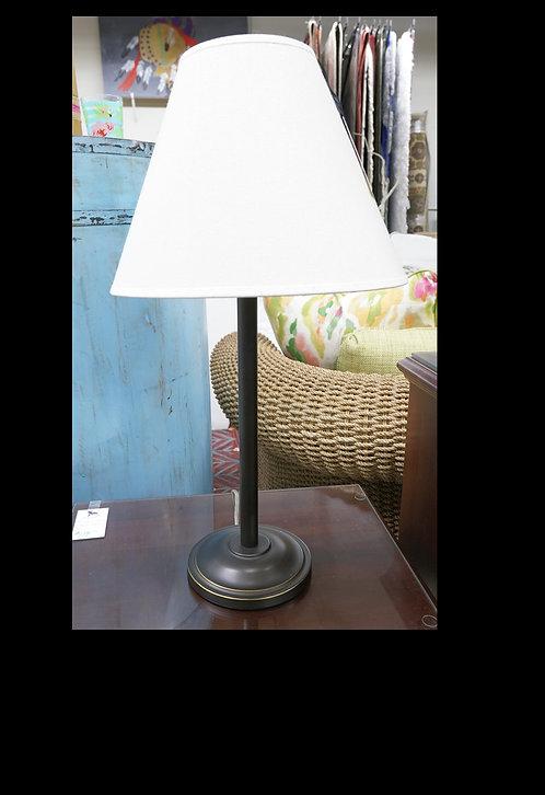 "Metal Table Lamp 25""  Ballard Design $59.00"