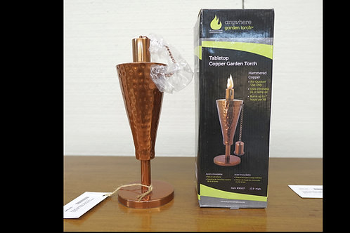 Tabletop Copper Garden Torch $45.00