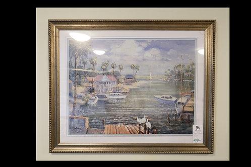 Framed Oceanside Print $49.00