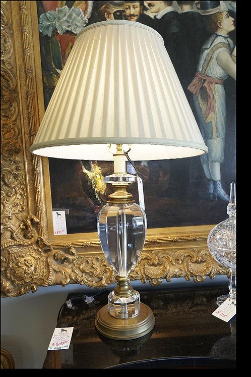Crystal Tear Drop Table Lamp $225.00
