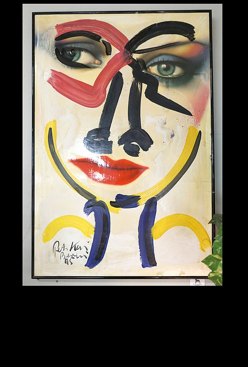 Peter Keil- Orig. Neo Expressionism- Nose Job $1299.00