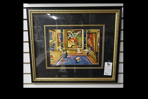 Alexander Astahov Serigraph- Homage to Chagall $299.00
