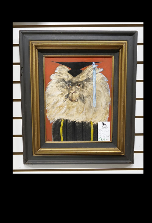 Monkey Graduate Painting $379.00