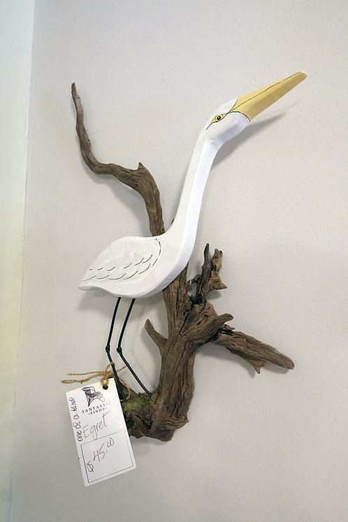 Egret- (One-of-a-Kind) $45.00