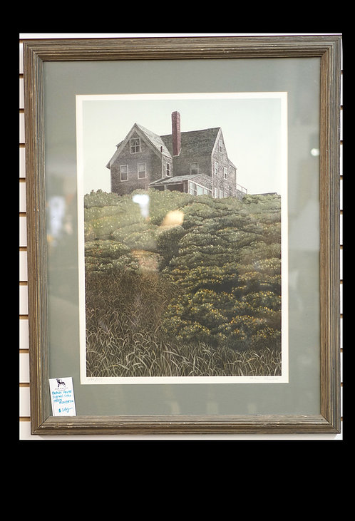 Beach House Signed Litho by Helen Rundell $149.00