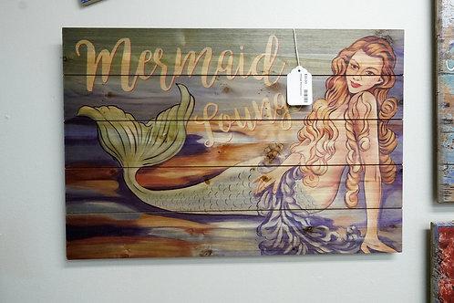 Vintage Mermaid Sign $35.00