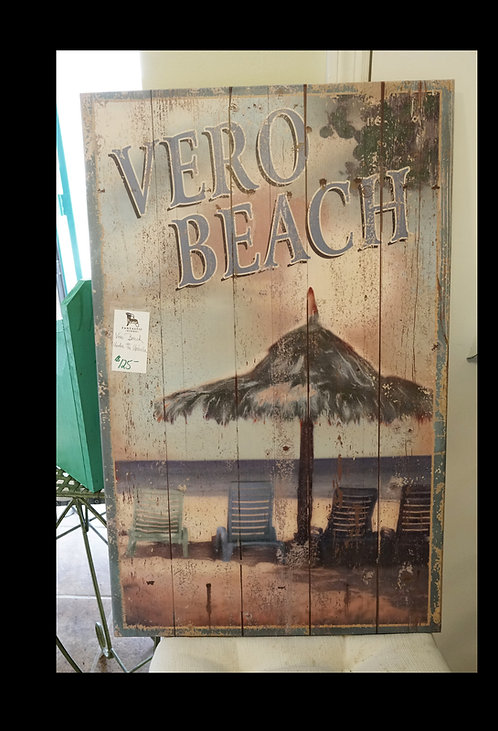 Vero Beach Under the Umbrella $125.00