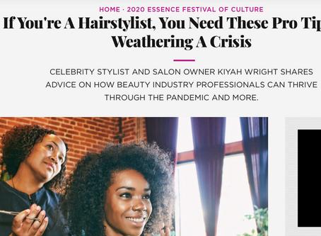 Essence Beauty Carnival: Quarantine Hair Tips From Kiyah Wright!