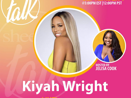 IG Live With Sheen Magazine And Kiyah Wright