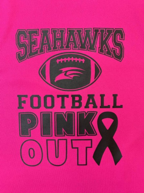 Seahawks Pink Out Football Youth
