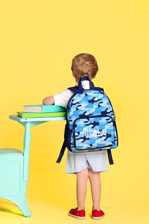 Preschool Cool Camo Backpack
