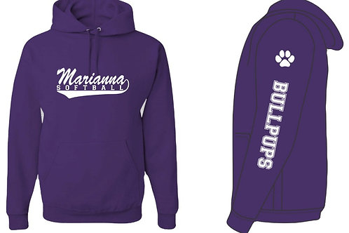 Marianna Softball - Hooded Sweatshirt