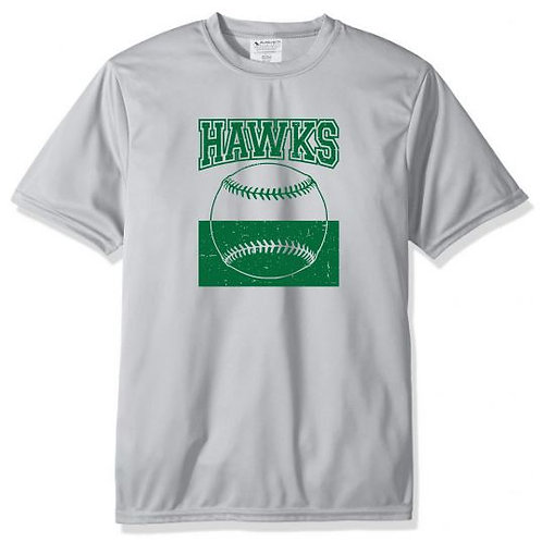 Hawks Baseball Reversed Distressed