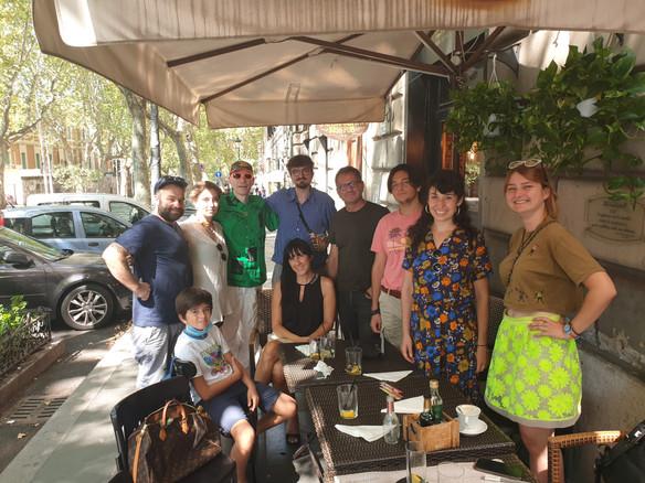 Rome trip of the class Nicolai