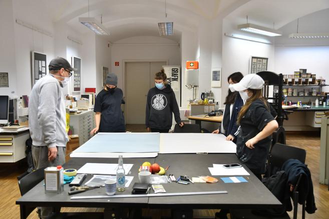 Workshop with Jan Brokof
