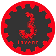logo 3invent engrenagem