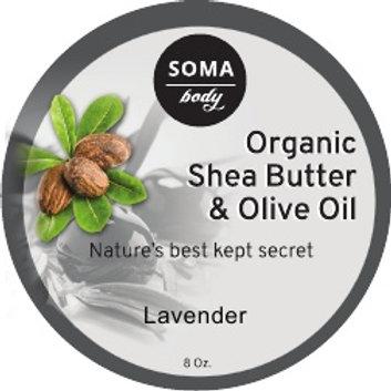 Olive Oil & Lavender Shea Butter