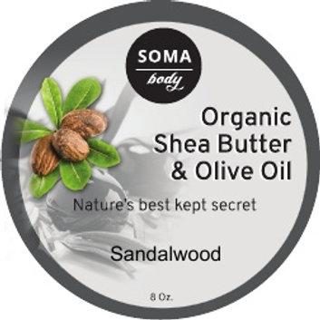 Olive Oil & Sandalwood Shea Butter