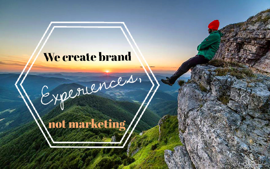 We create brand experiences