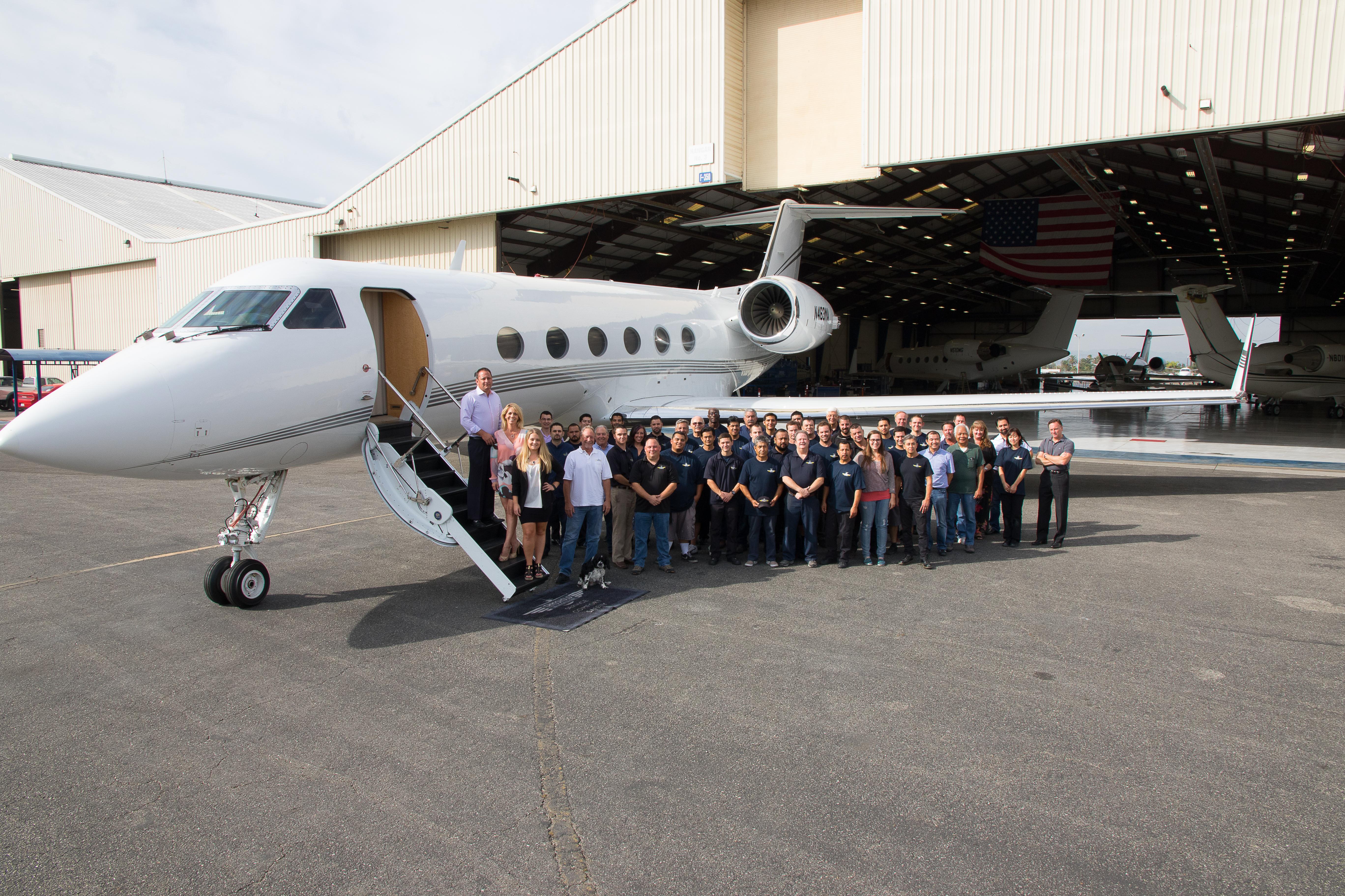 White apron brea ca - Local Aviation Company Expands
